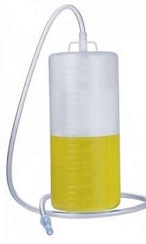 Coletor de urina sistema aberto