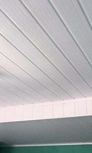 Forro PVC branco preço
