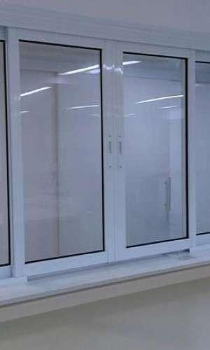 Janela acústica PVC