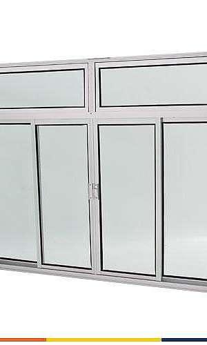 Janelas e portas de alumínio direto da fábrica