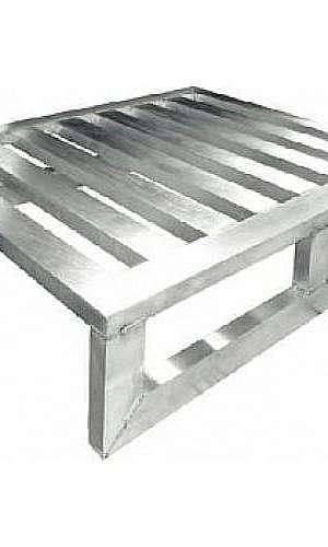 Pallet de alumínio