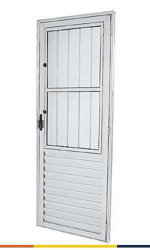 Venda de porta de alumínio